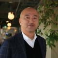みんな電力・大石英司代表=2月、IID世田谷ものづくり大学(東京・世田谷)で